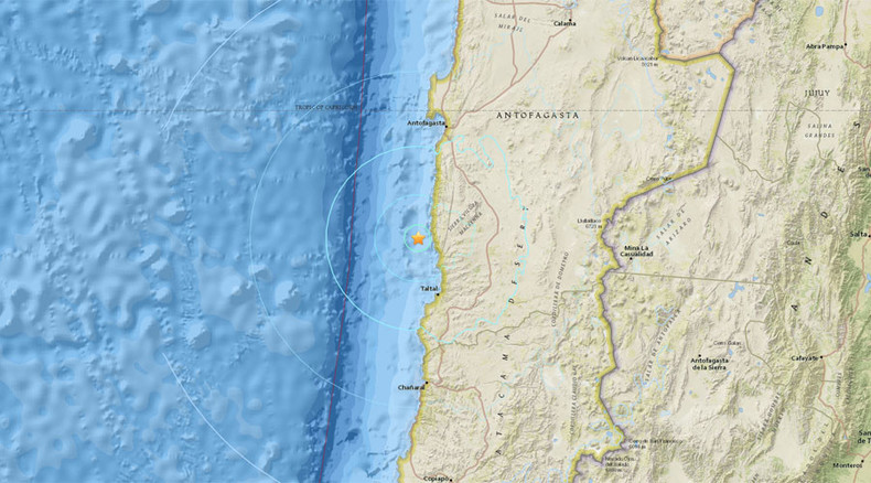 6.2 earthquake strikes off coast of Chile