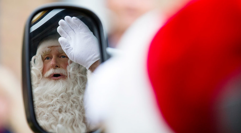 Brazilian Santa wanted after stealing helicopter in Sao Paulo