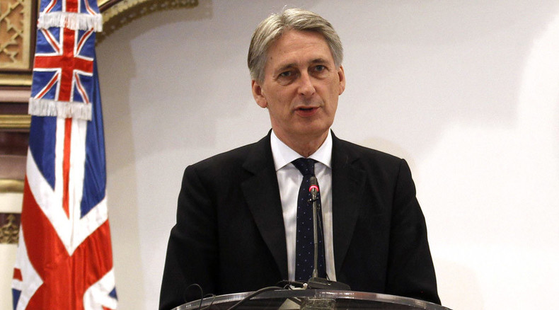 Hammond under fire for accepting £2,000 watch from Saudi sheikh