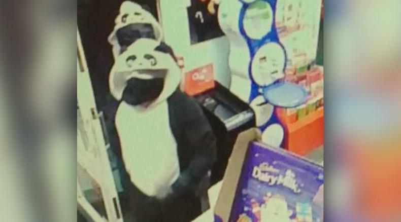 Armed 'pandas' rob UK newsagents