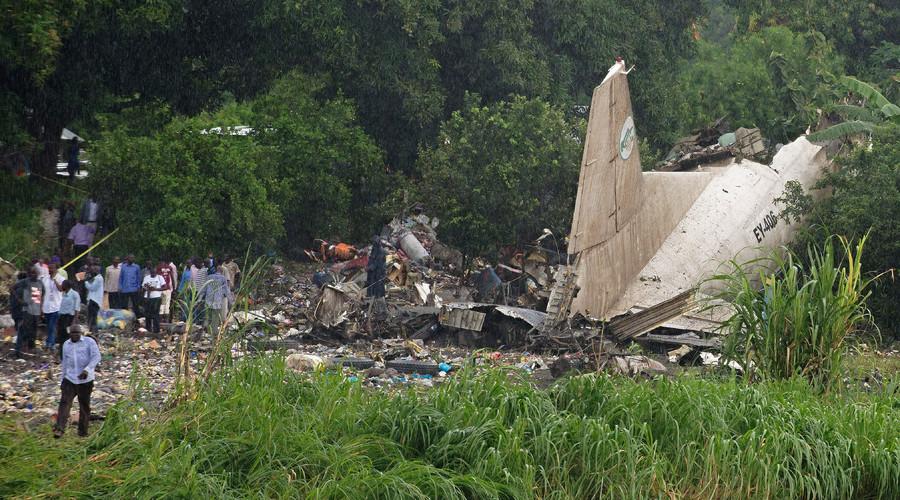 Cargo plane crash-lands in S. Sudan, 41 reported dead