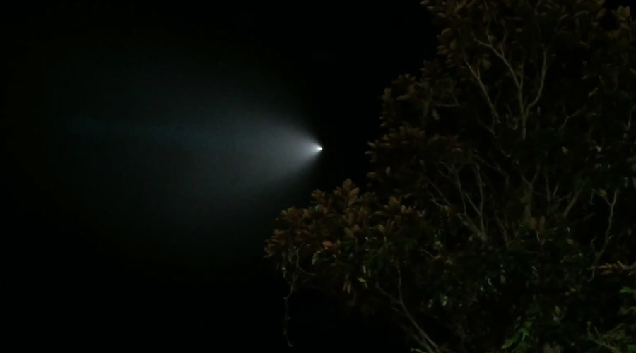 UFO, meteor, military? Celestial object over California turns out to be Trident missile (VIDEO)