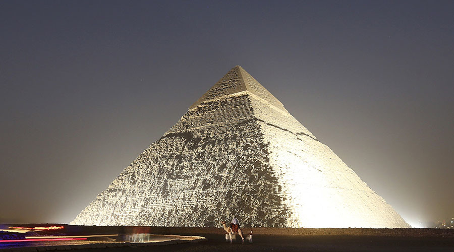 Image result for egyptian pyramids inside""