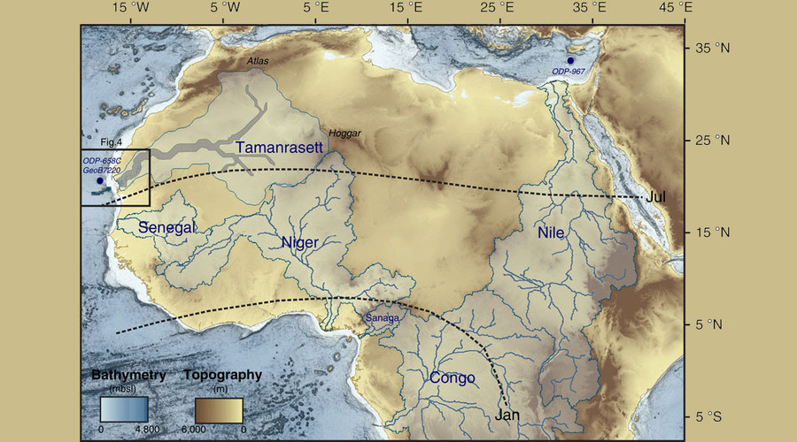 Vast underground river system discovered in once-vibrant Western Sahara
