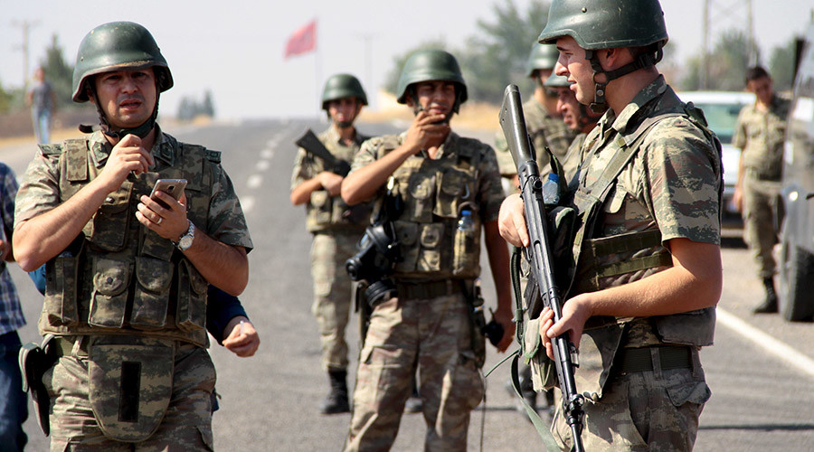 Suicide bomber blows himself up during anti-ISIS raid in G20-host Turkey