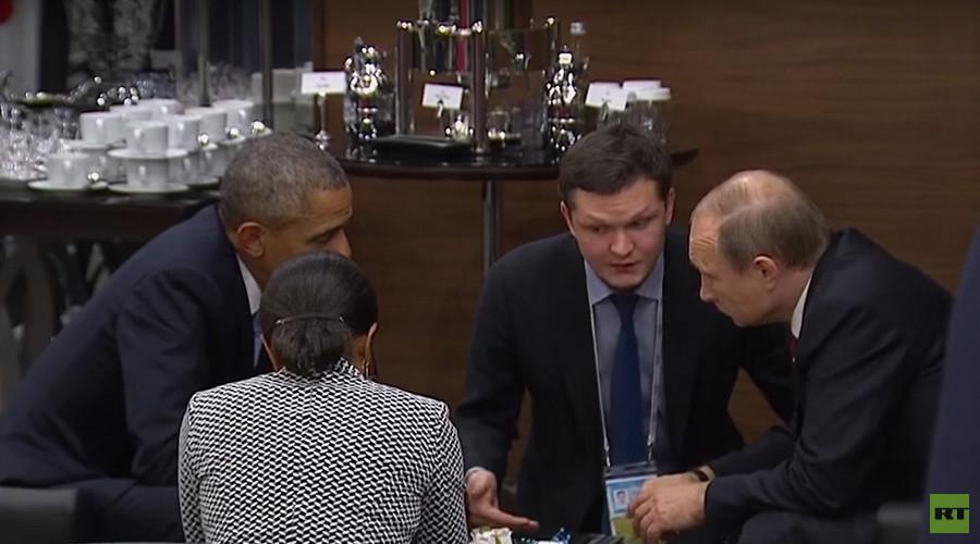 Obama, Putin talk Syria & Ukraine on sidelines of G20 summit
