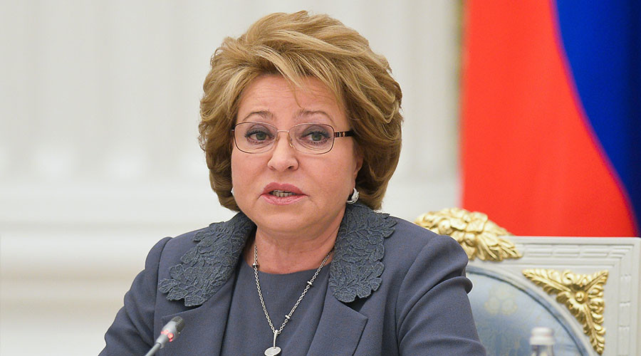 Head of French Senate wants sanctions lifted off Russia - Matviyenko