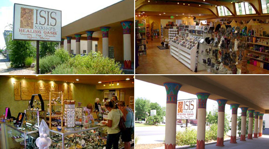 Denver's Isis Books & Gifts store - no relation to terror group - vandalized