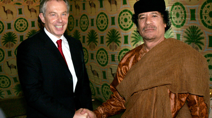 Parliament to question Blair over Gaddafi ties