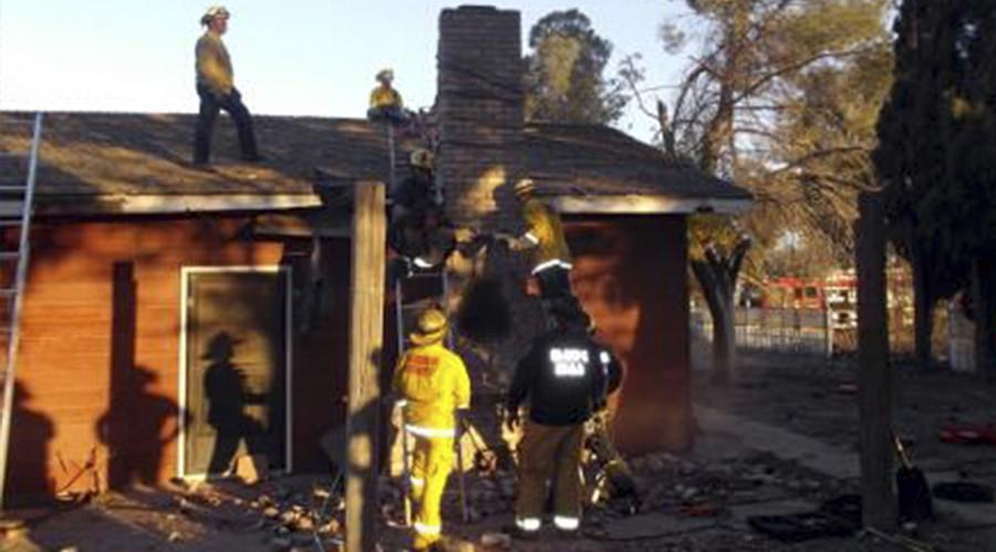 Burglary suspect gets stuck in chimney, dies after homeowner lights fire