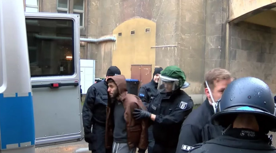 'The situation exploded': Mass brawl at Berlin refugee shelter leads to arrests (VIDEOS)