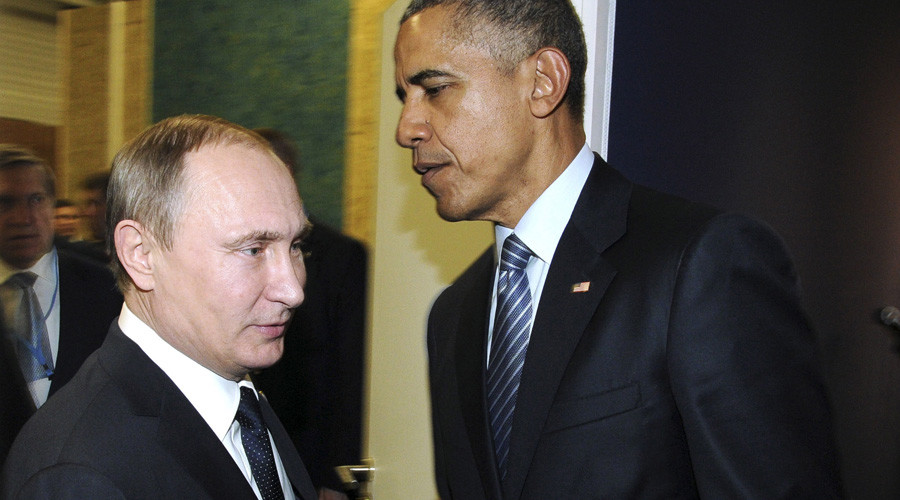 Obama talks to Putin in Paris, expresses regret over downed Su-24 jet in Syria - Kremlin