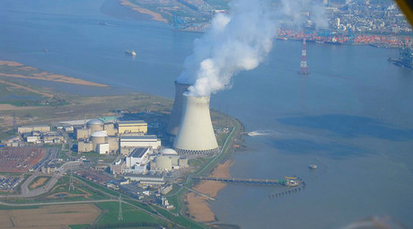 Explosion rocks nuclear power plant in Belgium