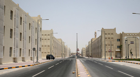 A picture shows the new labour city in the Sanaya Industrial Area in Doha © Stringer