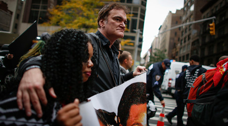 'I will not be intimidated,' Quentin Tarantino says in non-apology to police unions