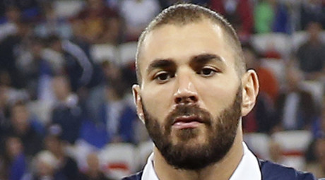 France's national soccer team player Karim Benzema. © Eric Gaillard