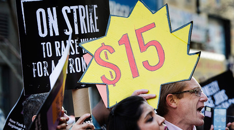 'Fight for $15' highlights: NY, Pittsburgh raise wages, Sanders rallies for workers