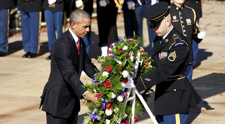 Obama promises veterans he's 'still not satisfied' with VA health & jobs programs
