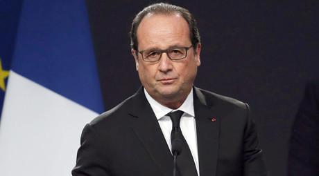 France's President Francois Hollande. © Regis Duvignau