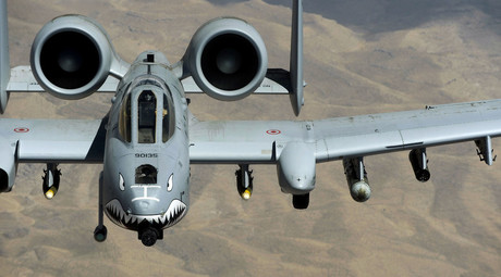 A U.S. Air Force A-10 Thunderbolt aircraft. © Staff Sgt. Jason Robertson