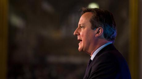 British Prime Minister David Cameron © Rob Stothard