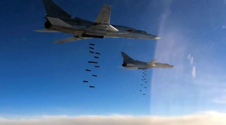 Russian warplanes disrupt ISIS oil sales channels; destroy 500 terrorist oil trucks in Syria