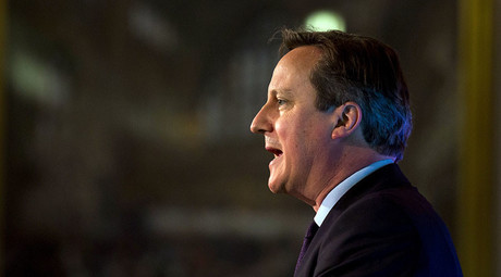 British Prime Minister David Cameron. © Rob Stothard