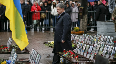 Most Ukrainians think country headed in wrong direction on 2nd anniversary of Maidan uprising