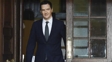 Britain's Chancellor of the Exchequer George Osborne © Reuters