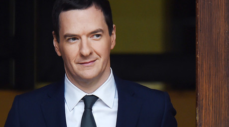 Britain's Chancellor of the Exchequer George Osborne © Andy Rain