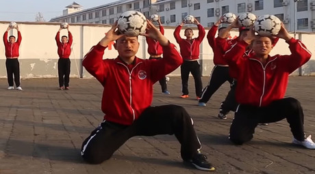 Kung fu football: New Chinese academy plans world domination (VIDEO)