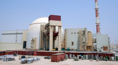 A general view of the Bushehr main nuclear reactor, 1,200 km (746 miles) south of Tehran © Raheb Homavandi