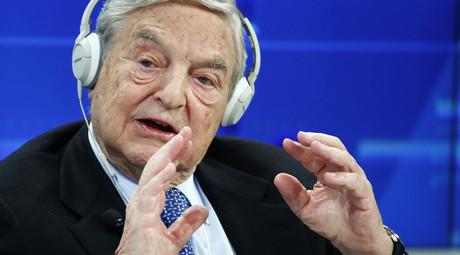Georges Soros © Ruben Sprich
