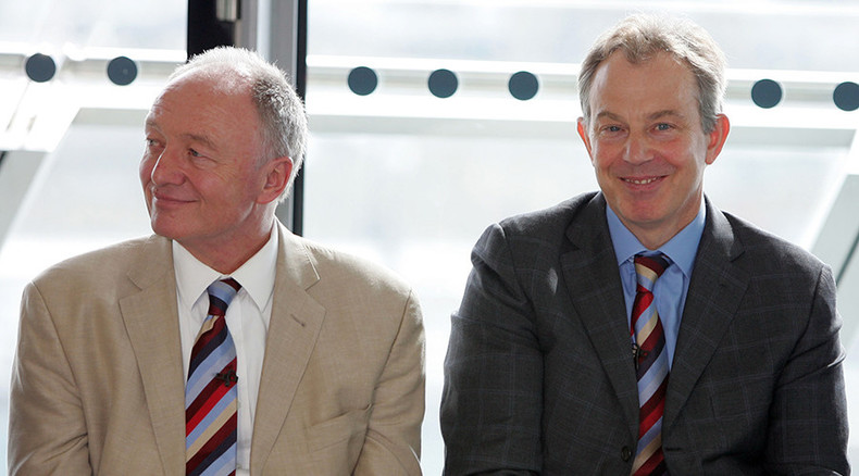 Livingstone: Blair guilty of 'criminal irresponsibility' over Iraq