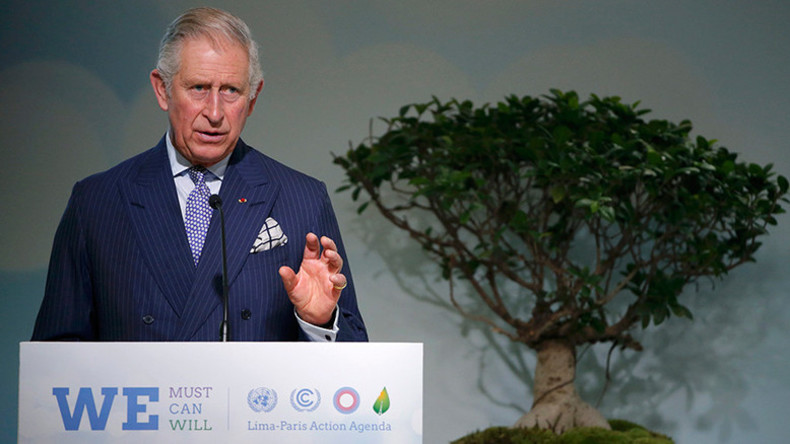 Prince Charles attempts media control with censorship contracts