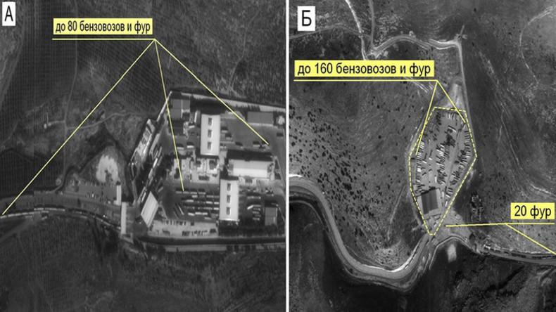 Η Ρωσία παρουσιάζει στοιχεία για τον ρόλο της Τουρκίας στο εμπόριο πετρελαίου της ISIS - RT World News