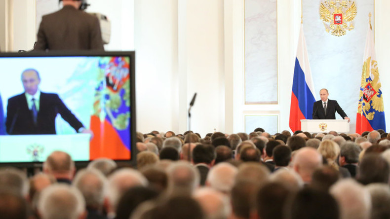 Putin to talk about fighting terrorism in address to Russian parliament on Thursday