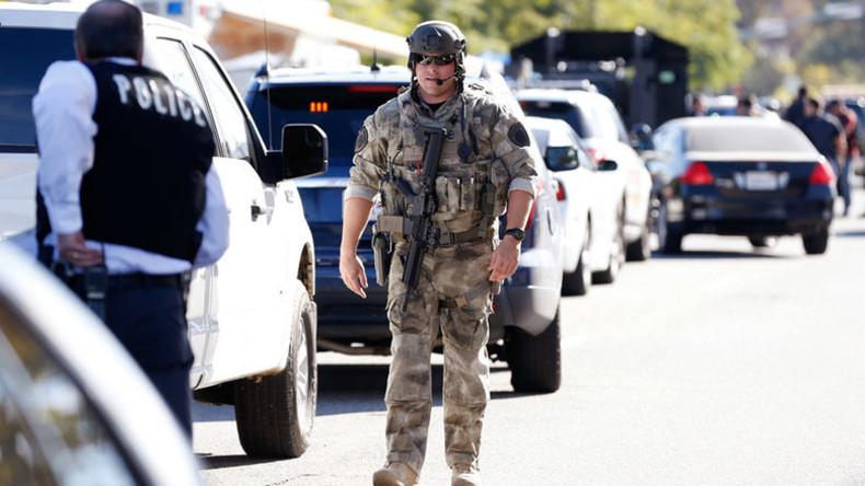 San Bernardino shooting:  Search for suspects underway, 14 killed, 17 injured