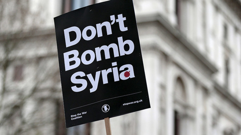#PrayforSyria: Twitter reacts to Syria airstrikes vote
