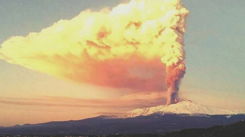 Dragon awakens: Mount Etna dazzles with first eruption in two years