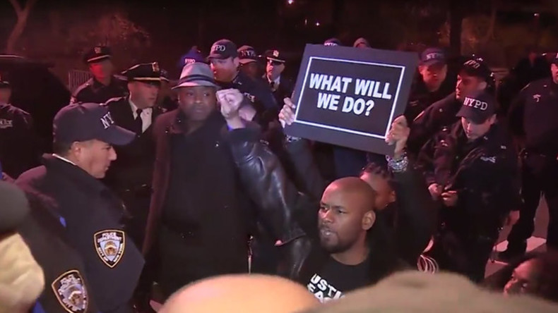 'Chokehold on the city': NYPD arrests 20 protesters demanding justice in Eric Garner death (VIDEO)