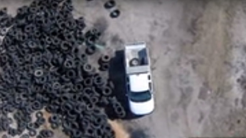 Unmanned meets unzipped: Drone footage leads to prostitution bust (VIDEO)