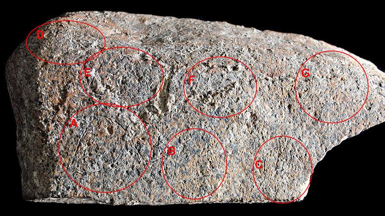 13,800yo rule-breaking rock drawing of Paleolithic life found in Spain