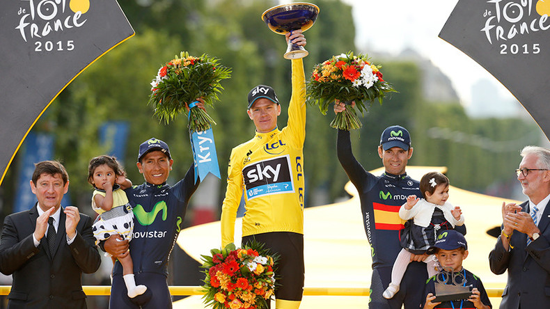 'I'm clean': Chris Froome releases Tour de France data in bid to silence critics