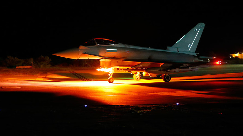 ISIS feels 'full force of RAF': UK destroys 8 targets in second night of Syria airstrikes