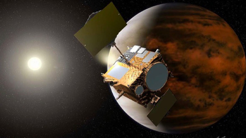 Venus' orbit inserted by Japanese probe