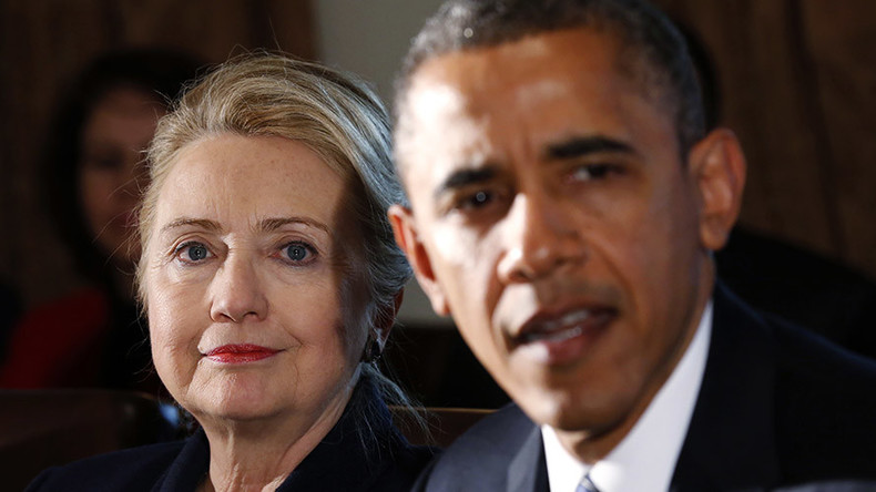 Obama, Clinton meet for secret lunch as they pursue tech industry over encryption, terror threats
