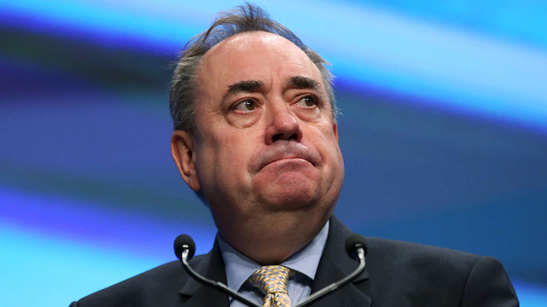 'None of the UK's 7 foiled terror plots were directed from Syria' – Alex Salmond