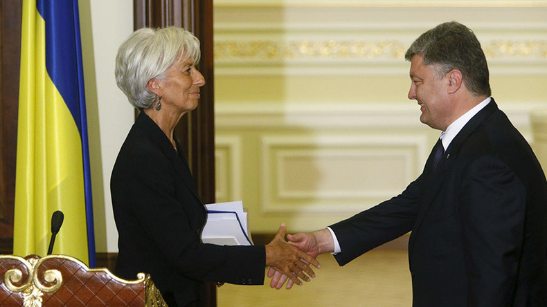 IMF allows lending to countries with arrears; Russia prepares to go to court over Ukraine debt