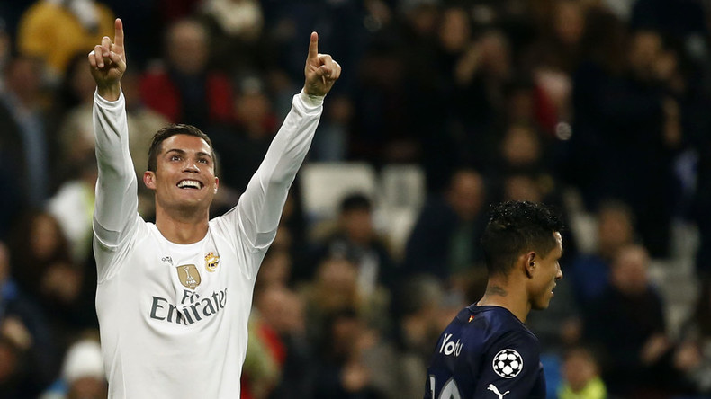 Cristiano Ronaldo sets new Champions League goal scoring record